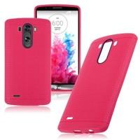 Case 4U LG G4 Dot Style Silikon Kılıf Pembe