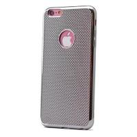Teleplus İphone 6 Plus Plastik Ve Silikon Karışımı Kılıf Gümüş