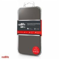 Redlife iPhone 5/5s/5c Yuvarlak Kenarlı 0,33 mm. Temperli Cam Ekran Koruyucu - AKET00675