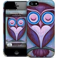 Gelaskins Apple iPhone 5 Hardcase Kılıf Sleepy Owl