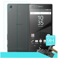Microsonic Sony Xperia Z5 Premium Temperli Cam Ekran Koruyucu Ön + Arka