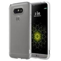 Microsonic Lg G5 Kılıf Transparent Soft Beyaz