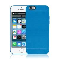 Microsonic iPhone 6 (4.7'') Dot Style Silikon Kılıf Mavi - CS120-DOT-IP6-MVI