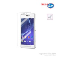 Case 4U Sony Xperia M2 Ultra Şeffaf Ekran Koruyucu (Parmak izi bırakmaz)