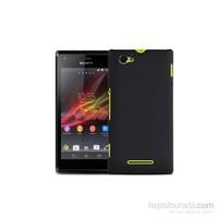 Case 4U Sony Xperia M Siyah Kapak