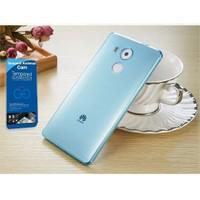 Teleplus Huawei Mate 8 Silikon Kılıf Mavi + Cam Ekran Koruyucu