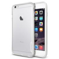 Spigen Apple iPhone 6s Plus/6 Plus Kılıf Neo Hybrid EX Satin Silver - 11059