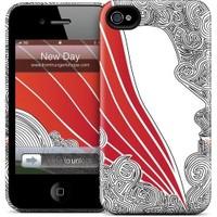 Gelaskins Apple iPhone 4 Hardcase Kılıf New Day