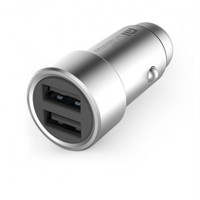 Xiaomi Araç Şarj Cihazı Gri Metal Tasarım 2 USB (3.6 A Hızlı Şarj)