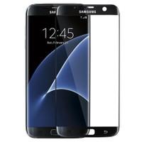 Microsonic Samsung Galaxy S7 Edge 3D Kavisli Temperli Cam Ekran Koruyucu Film Siyah
