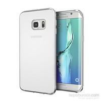 Microsonic Samsung Galaxy S7 Edge Kılıf Transparent Soft Beyaz