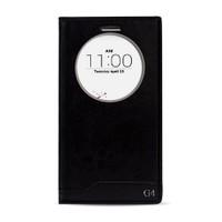 Fitcase Dolce Lg G4 H815 Gizli Mıknatıslı Pencereli Kılıf Siyah