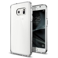 Spigen Samsung Galaxy S7 Kılıf Ultra Hybrid Crystal Clear - 555CS20008