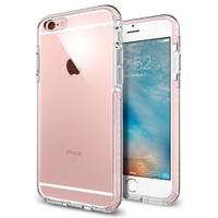 Spigen Apple iPhone 6S/6 Kılıf Ultra Hybrid TECH Crystal Rose - 11788