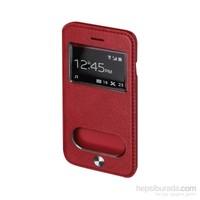 Inovaxis Apple iPhone 6/6S Flip Cover Tuşlu Kapak-Kılıf-Kırmızı