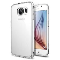 Spigen Samsung Galaxy S6 Kılıf Ultra Hybrid - Crystal Clear - SGP11317