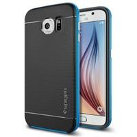 Spigen Samsung Galaxy S6 Kılıf Neo Hybrid - Electric Blue - SGP11322