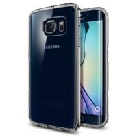 Spigen Samsung Galaxy S6 Edge Kılıf Ultra Hybrid - Space Cyrstal - 11418