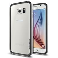 Spigen Samsung Galaxy S6 Kılıf Neo Hybrid EX - Satin Silver - SGP11442