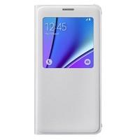 Samsung Galaxy Note 5 S-View Kapaklı Kılıf Beyaz - EF-CN920PWEGTR
