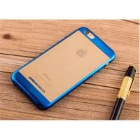 Qapak iPhone 6 Bumper Koruma Kapak Mavi uz244434009307