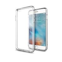 Melefoni Apple İphone 6 6S Plus Kılıf İnce Sert Sararmayan Kılıf Ekran Koruyucu