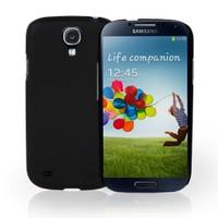 Case 4U Samsung i9500 Galaxy S4 Arka Kapak Siyah