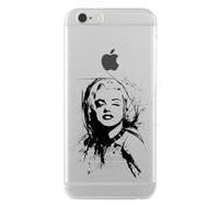 Remeto Samsung Galaxy Grand 2 Marilyn Monroe Transparan Silikon Resimli Kılıf