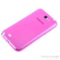 Qapak Samsung Galaxy Note 2 Silikon Kapak Pembe uz244434007557