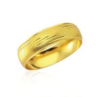 Forentina Altın Kaplama Lazer İşlemeli Bilezik Fr0293