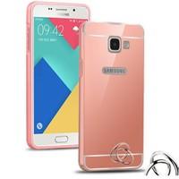 Microsonic Samsung Galaxy A3 2016 Kılıf Luxury Mirror Rose Gold