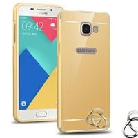 Microsonic Samsung Galaxy A3 2016 Kılıf Luxury Mirror Gold