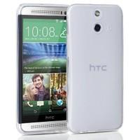 Teleplus Htc One E8 Silikon Kılıf Beyaz