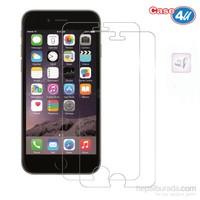 Case 4U Apple iPhone 6 Plus Ultra Şeffaf Ekran Koruyucu (2 Adet)