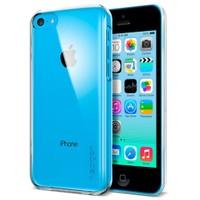 Spigen Apple iPhone 5c Kılıf Ultra Thin Air Crystal Clear - Şeffaf