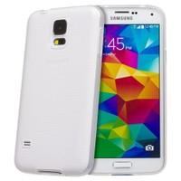 Teleplus Samsung Galaxy S5 Mini Silikon Kılıf Beyaz
