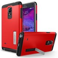 Spigen Samsung Galaxy Note 4 Kılıf Slim Armor Electric Red - 11132