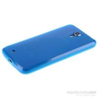 Qapak Silikon Kapak Samsung S4 Mavi uz244434008049
