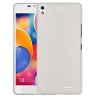 Microsonic Transparent Soft General Mobile Discovery Air Kılıf Beyaz
