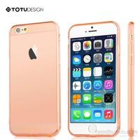 Totu Design Apple iPhone 6 Plus Soft Kırmızı Kılıf*