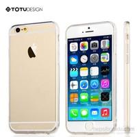 Totu Design Apple iPhone 6 Soft Şeffaf Kılıf