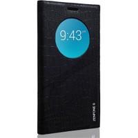 Teleplus Asus Zenfone 6 Pencereli Benekli Kılıf Siyah