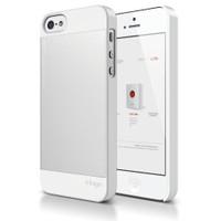 Elago Apple iPhone 5 S5 Outfit Series Beyaz (Ekran Koruyucu Hediye)