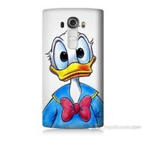 Teknomeg Lg G4 Kapak Kılıf Donald Duck Baskılı Silikon