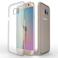 Melefoni Arte Samsung Galaxy S7 Edge Kılıf Sararma Yapmaz İnce Plastik