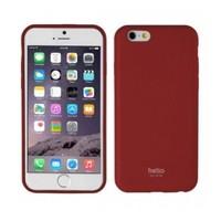 Uniq Apple iPhone 6/6S Helio Deri İnce Arka Kapak Kılıf Kırmızı