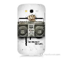 Teknomeg Samsung Galaxy Grand Duos Kapak Kılıf Müzik Hayattır Baskılı Silikon