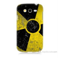 Teknomeg Samsung Galaxy Grand Duos Kapak Kılıf Radyasyon Baskılı Silikon