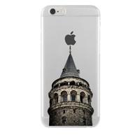 Remeto Samsung Galaxy S7 Transparan Silikon Resimli Galata Kulesi