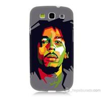 Teknomeg Samsung Galaxy S3 Kapak Kılıf Bob Marley Baskılı Silikon